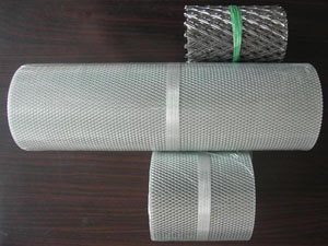 Expanded Aluminium Mesh For Gutter Guard Cover Id 10476404